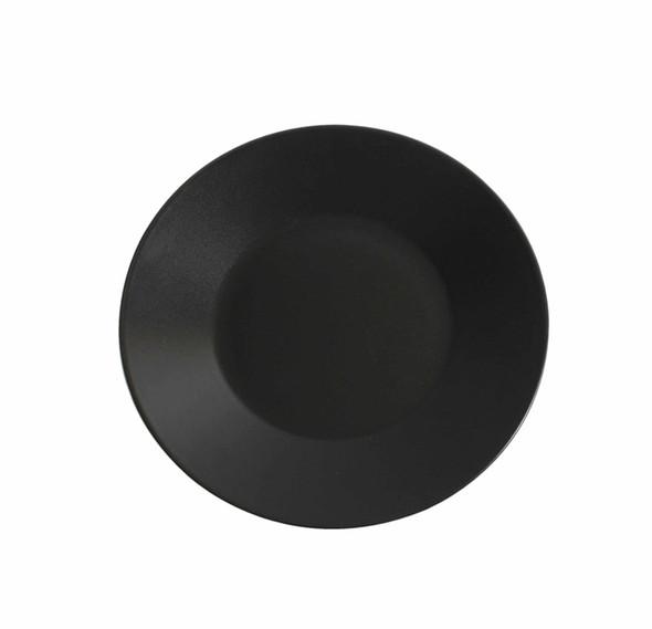 Black Dessert Plate 8in
