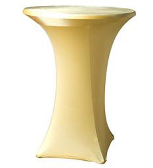 Spandex Pod Table Cover Gold