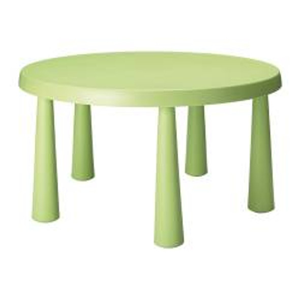 Children's Table Round Green