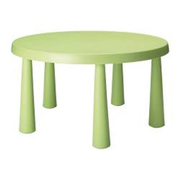 Children's Table Round Green