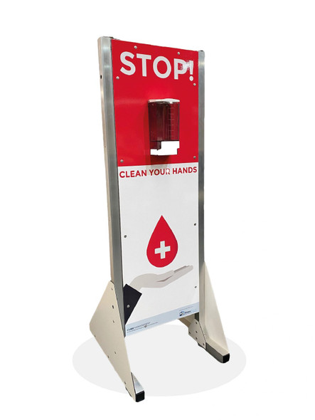 Free Standing Hand Sanitizer Dispenser Unit