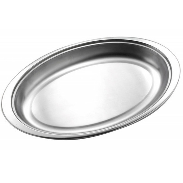 Vegetable Dish Oval 14in 1 Section