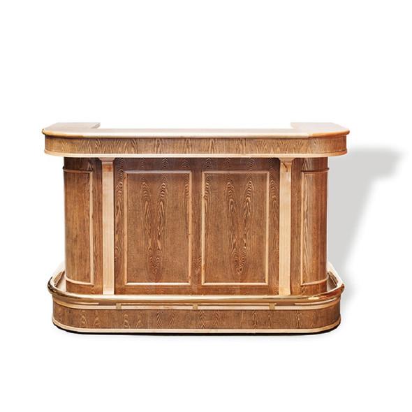 Ornate Wooden Bar Unit