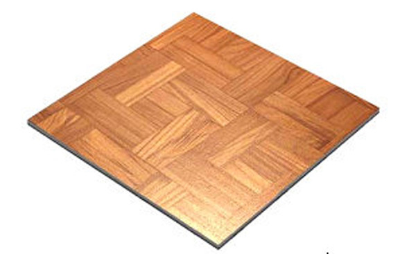 Wooden Parquet Dance Floor 3ft x 3ft