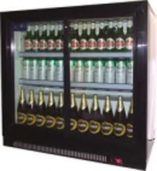 Undercounter Cooler Cabinet 2 Door Glass