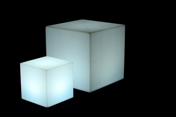 Cube Illuminated Small 17in