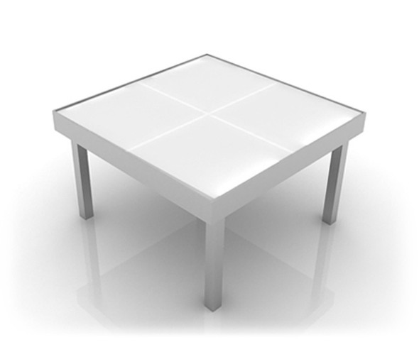 Illuminated Square Coffee Table