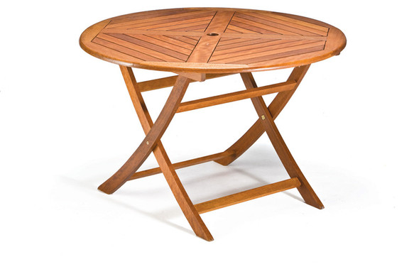 Garden Table/Patio Table Wooden Round 2ft