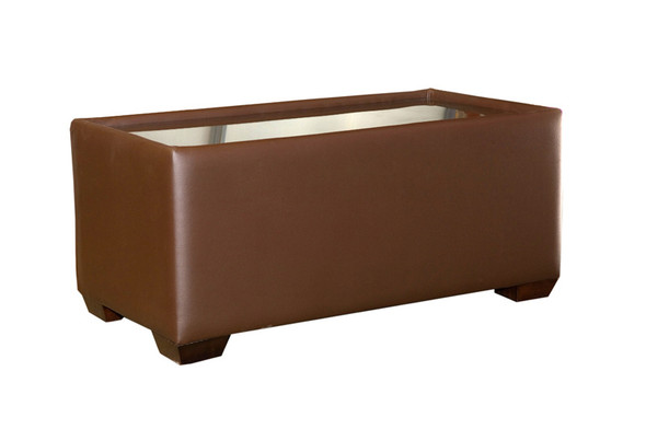 Club Coffee Table- Cocoa Brown