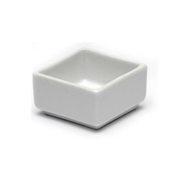 White Cube Dip Pot 2in x 2in