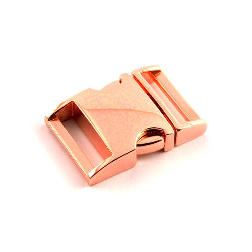 """Side Release Buckle (Type 2) - 20mm (3/4"""") - Rose Gold"""