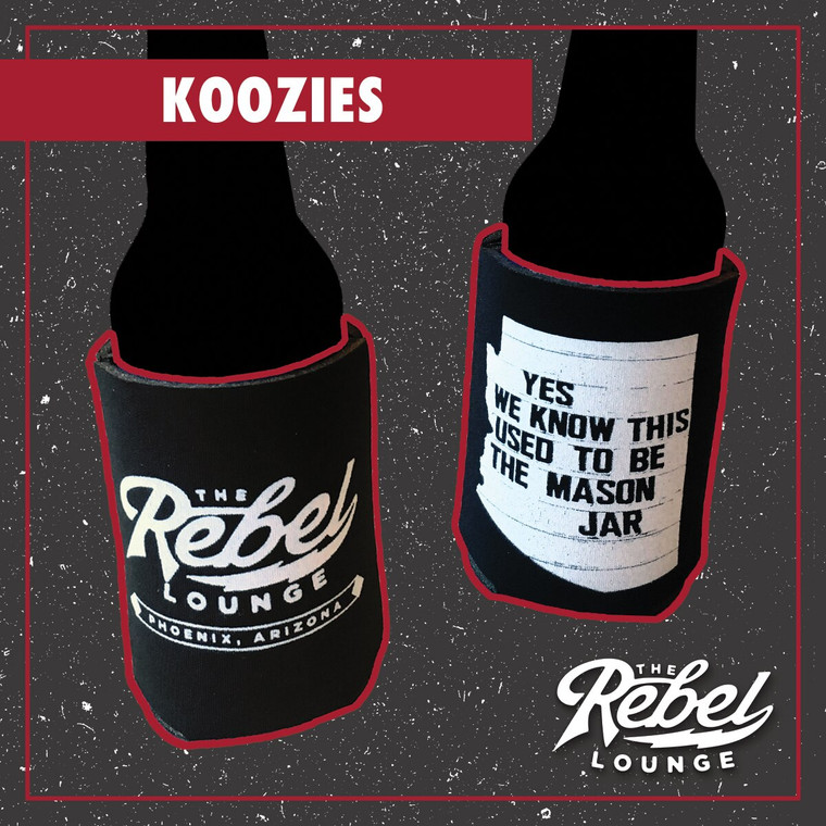The Rebel Lounge Can Koozies