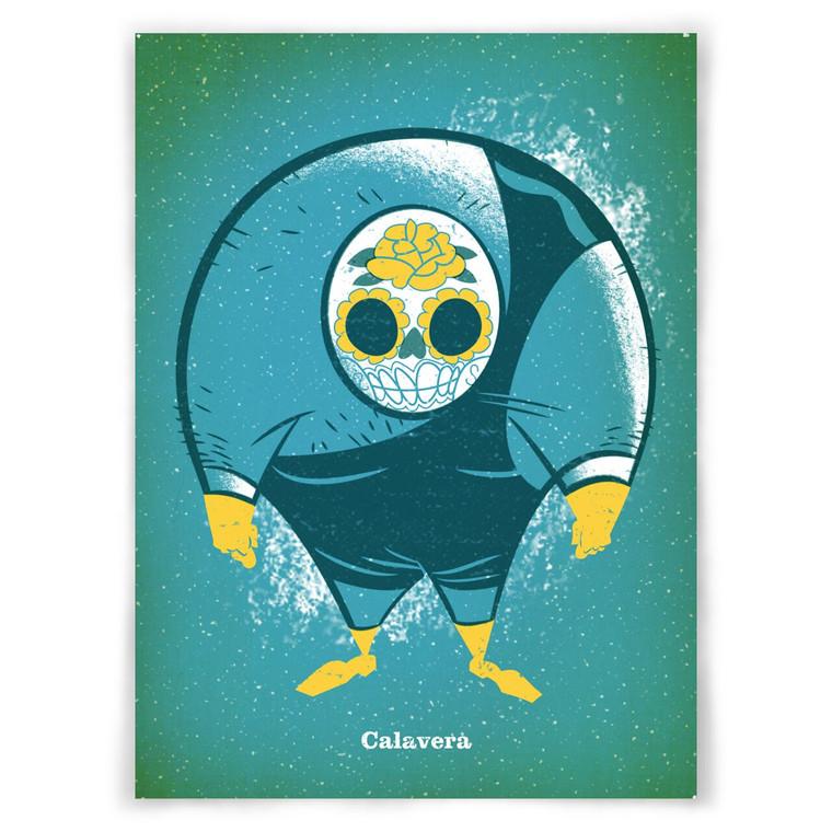 Calavera 5x7 UPA Print