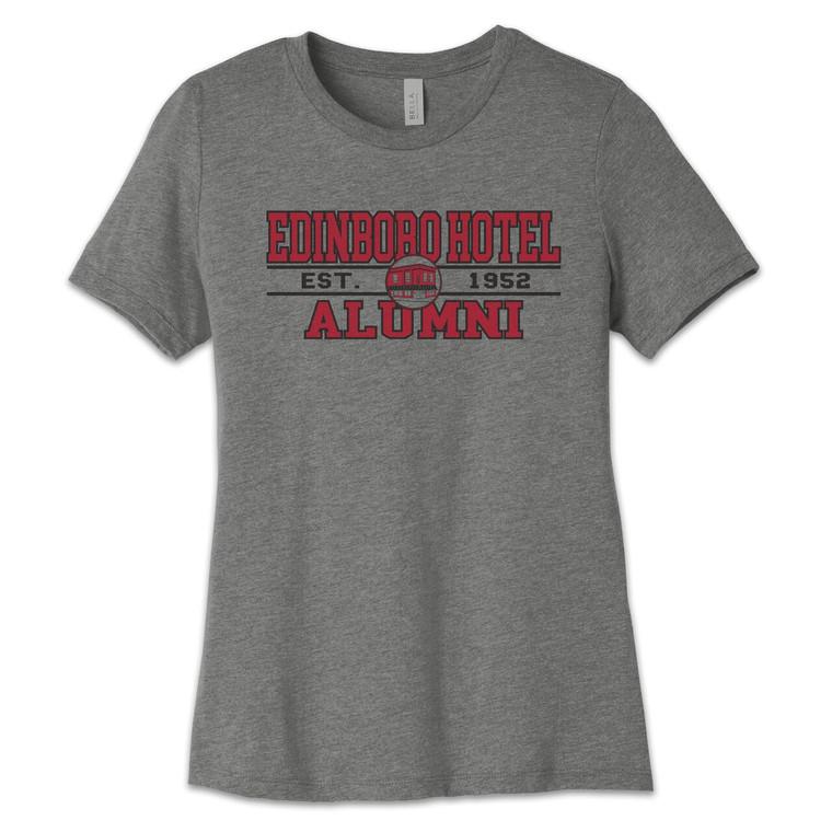 Alumni Tee: Ladies Grey