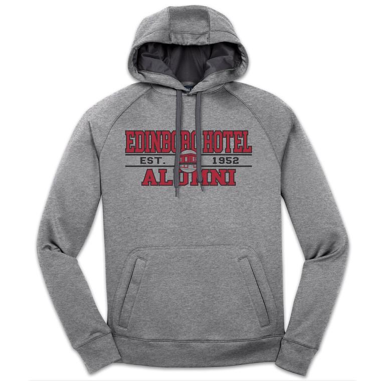 Alumni Hoodie: Unisex Grey