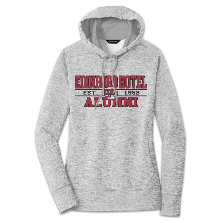 Alumni Hoodie: Womens Grey Heather