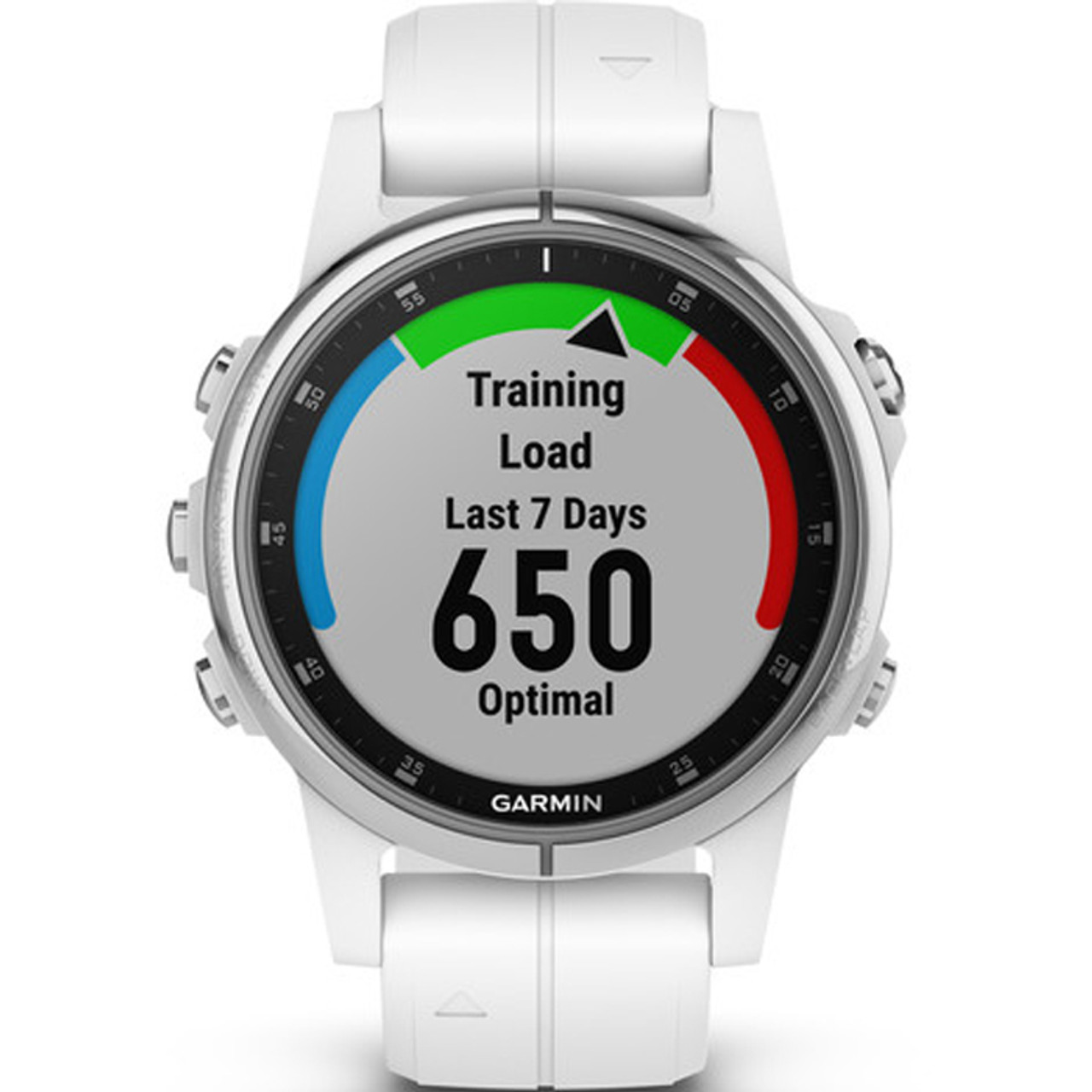 Garmin Fenix 5S Plus Sapphire GPS White 42mm Watch 010-01987-01