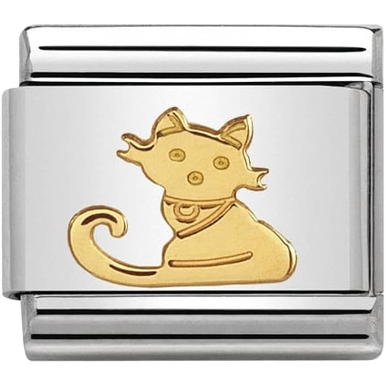Nomination CLASSIC Gold Zodiac Oval Libra Charm 030165//07 rrp £22
