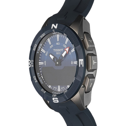 Tissot Touch Collection T Touch Expert Solar Ii Men S Titanium Case Silicone Strap Watch T110 420 47 041 00
