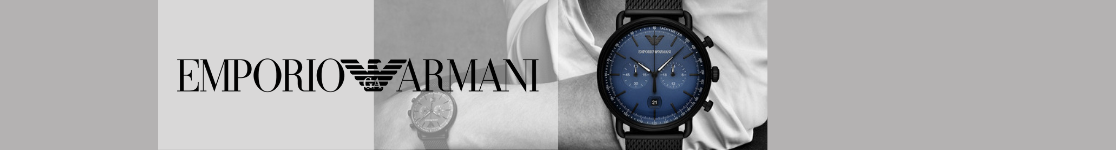 Emporio Armani Watches from D C Leake