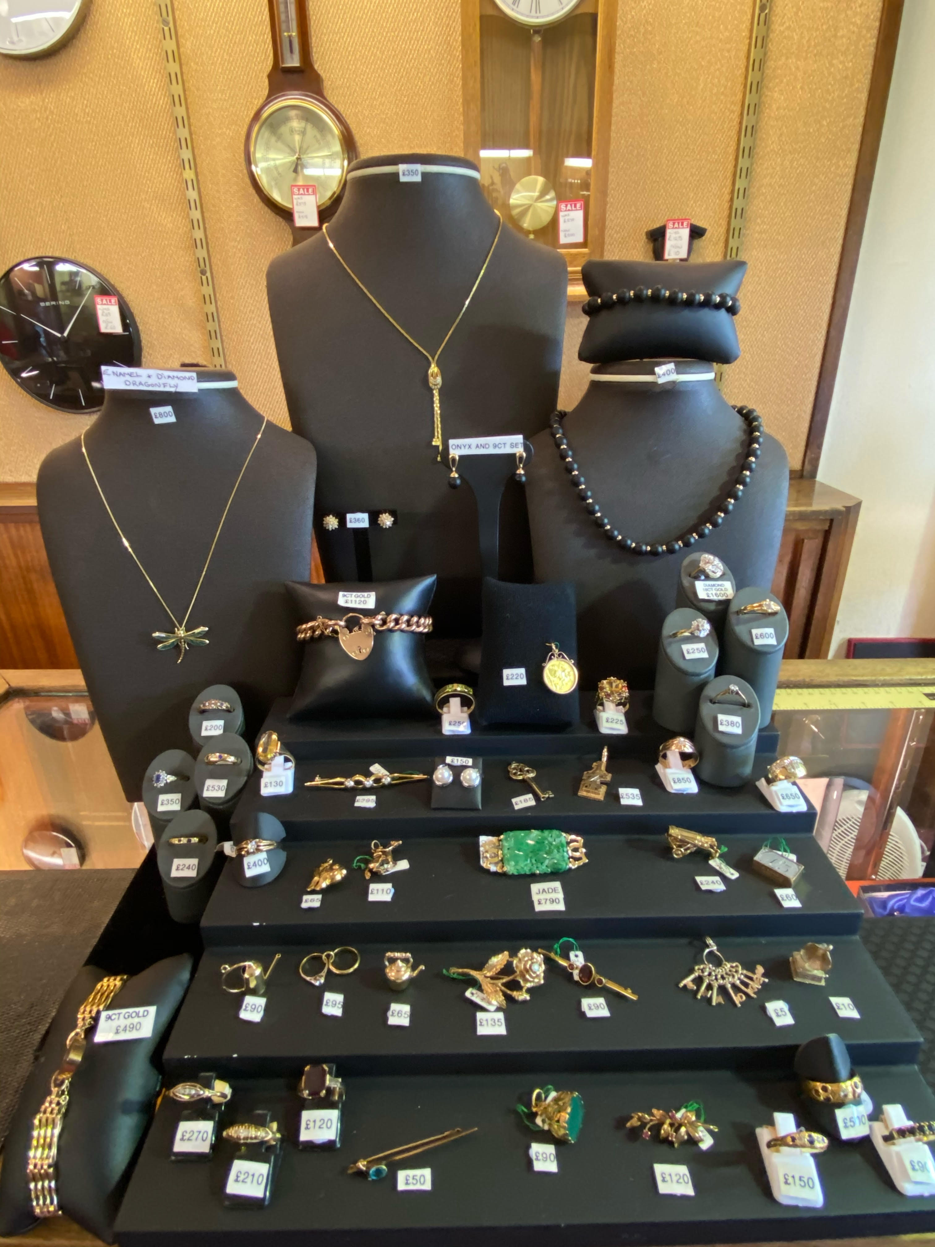 Jewellery In store