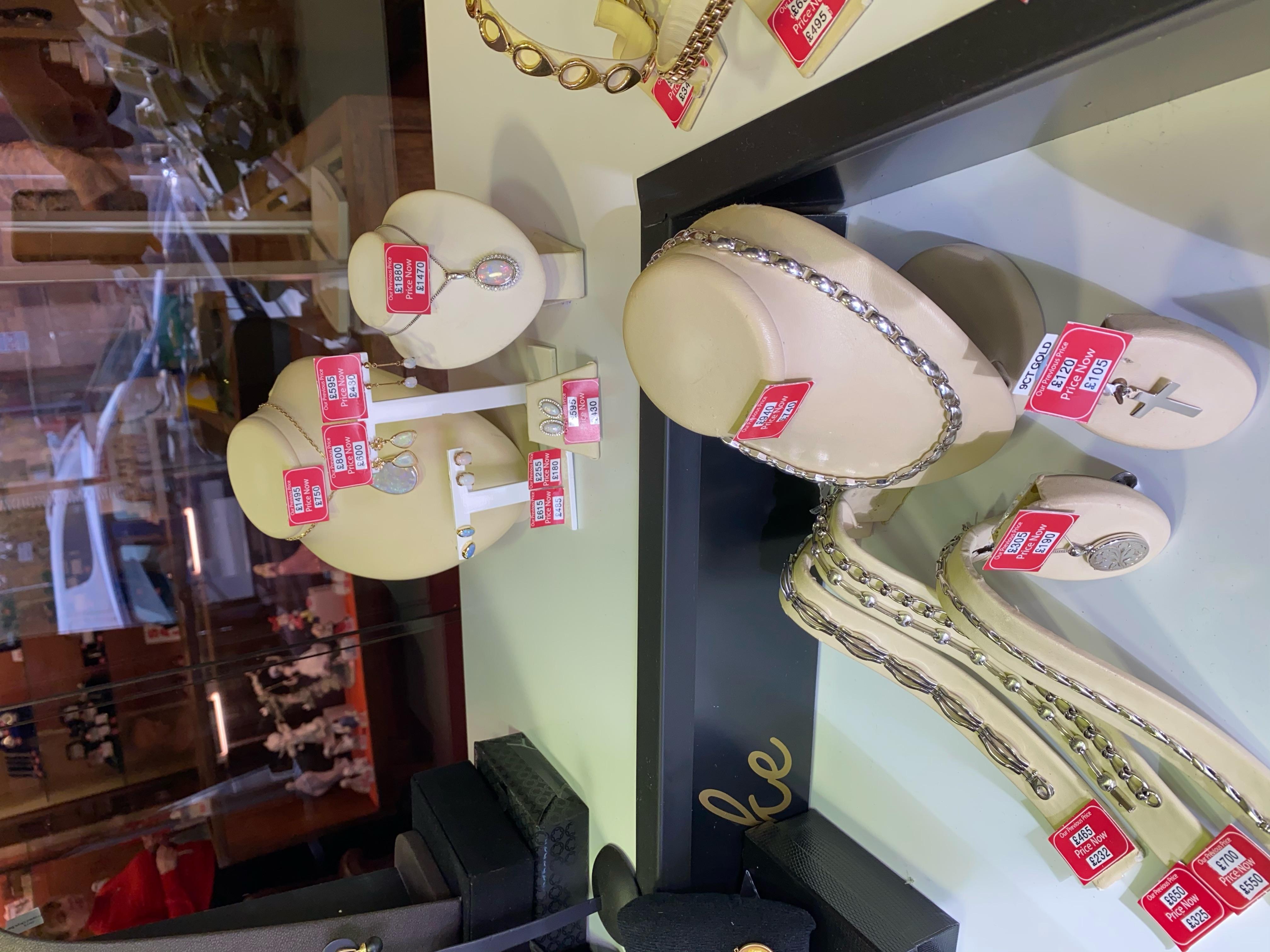 Jewellery In store