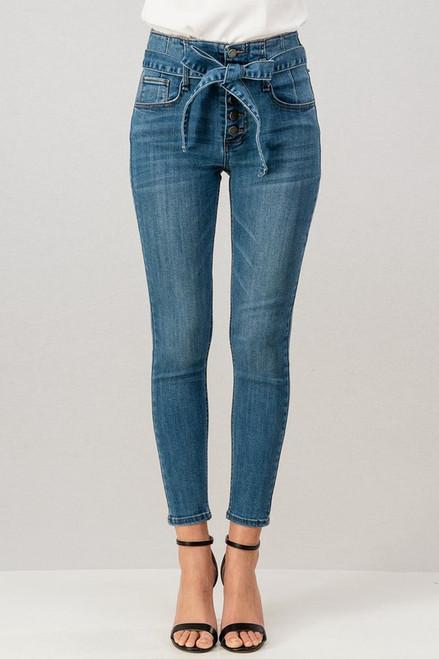 Ribbon jeans