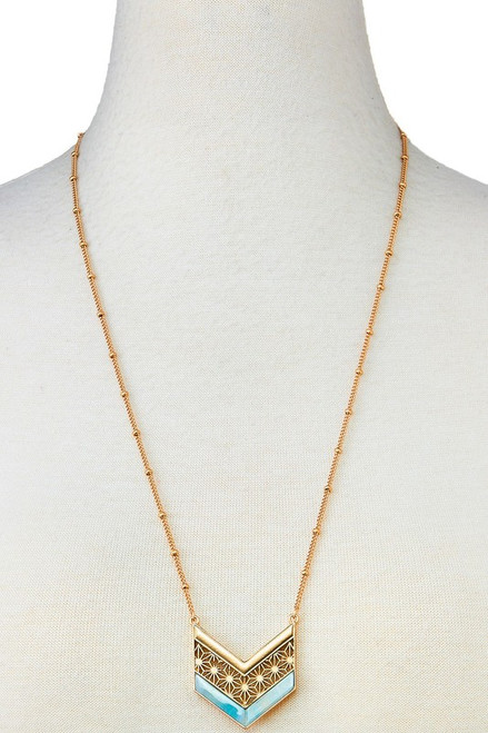 Daisy long necklace