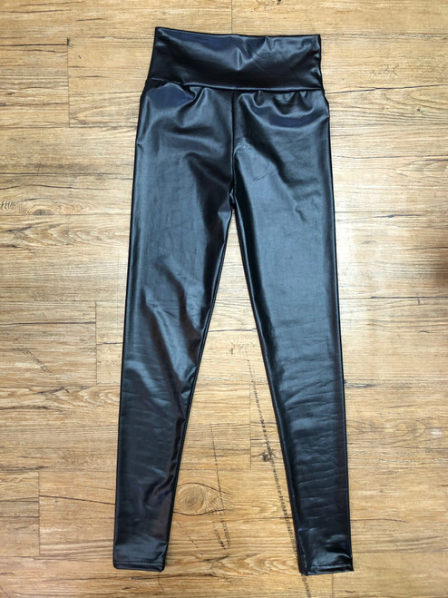 Perfect Pleather Legging- FINAL SALE