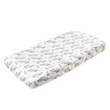Copper Pearl Changing Pad Cover - Fern