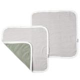 Copper Pearl Security Blanket - Everest Grey Stripe