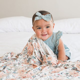 Copper Pearl Swaddle - Autumn Floral