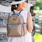 Mini Backpack - Taupe