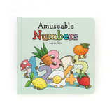 Jellycat Kids Book - Amusable Numbers