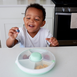 Rotating Snack Spinner - Teal