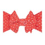 Shab-Bow-Lous Headband - Terracotta Dot