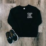 Black Toddler Sweatshirt