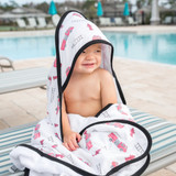 Copper Pearl Hooded Towel - Chief