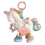 Link & Love Plush Silicone Teether - Unicorn