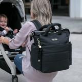 Dream Convertible Backpack Diaper Bag - Black
