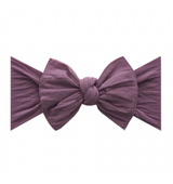 Baby Bling Solid Bow Headband - Lilac