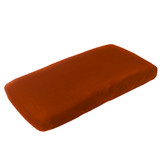 Copper Pearl Changing Pad Cover - Rust
