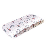 Copper Pearl Changing Pad Cover - Jo