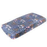 Copper Pearl Changing Pad Cover - Meadow