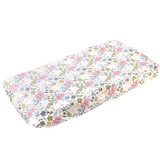 Copper Pearl Changing Pad Cover - Olive