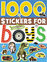 1,000 Stickers for Boys