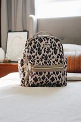 Mini Backpack - Leopard
