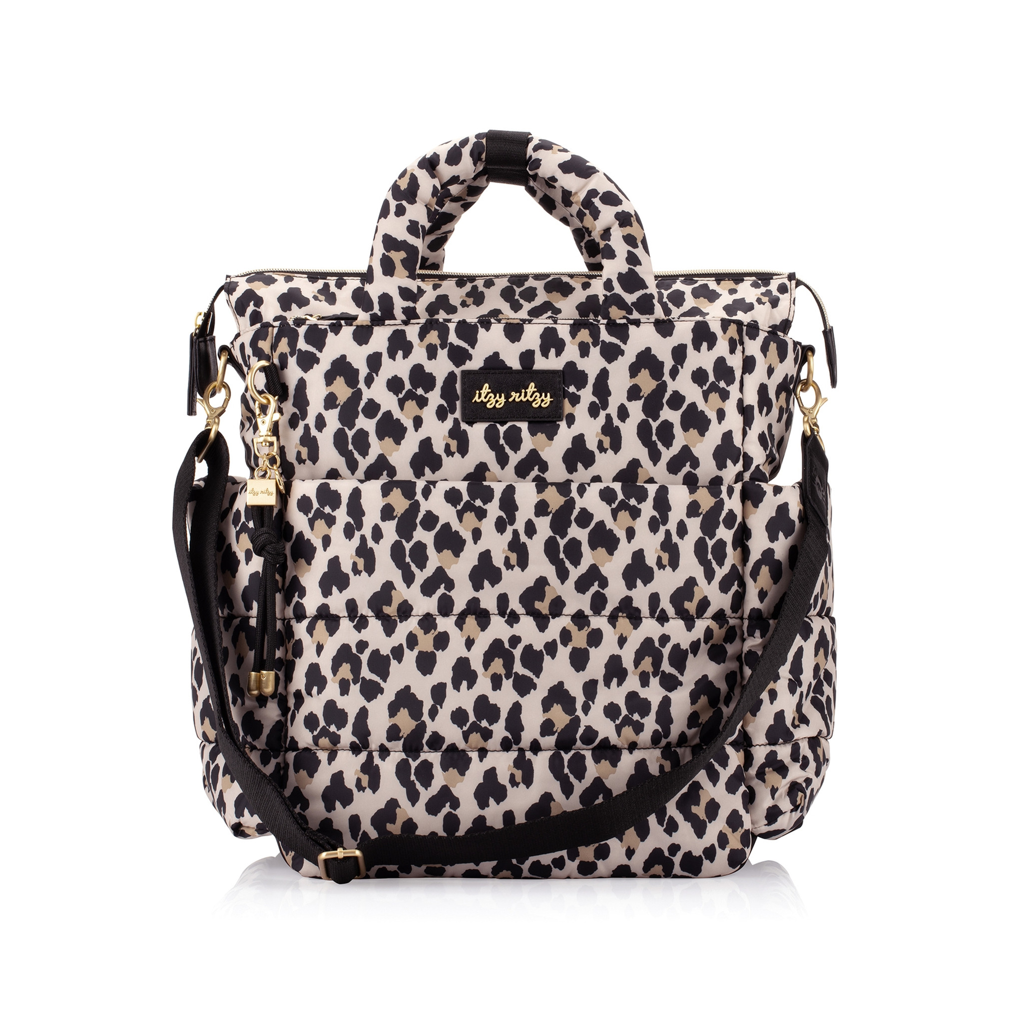 Dream Convertible Backpack Diaper Bag - Leopard