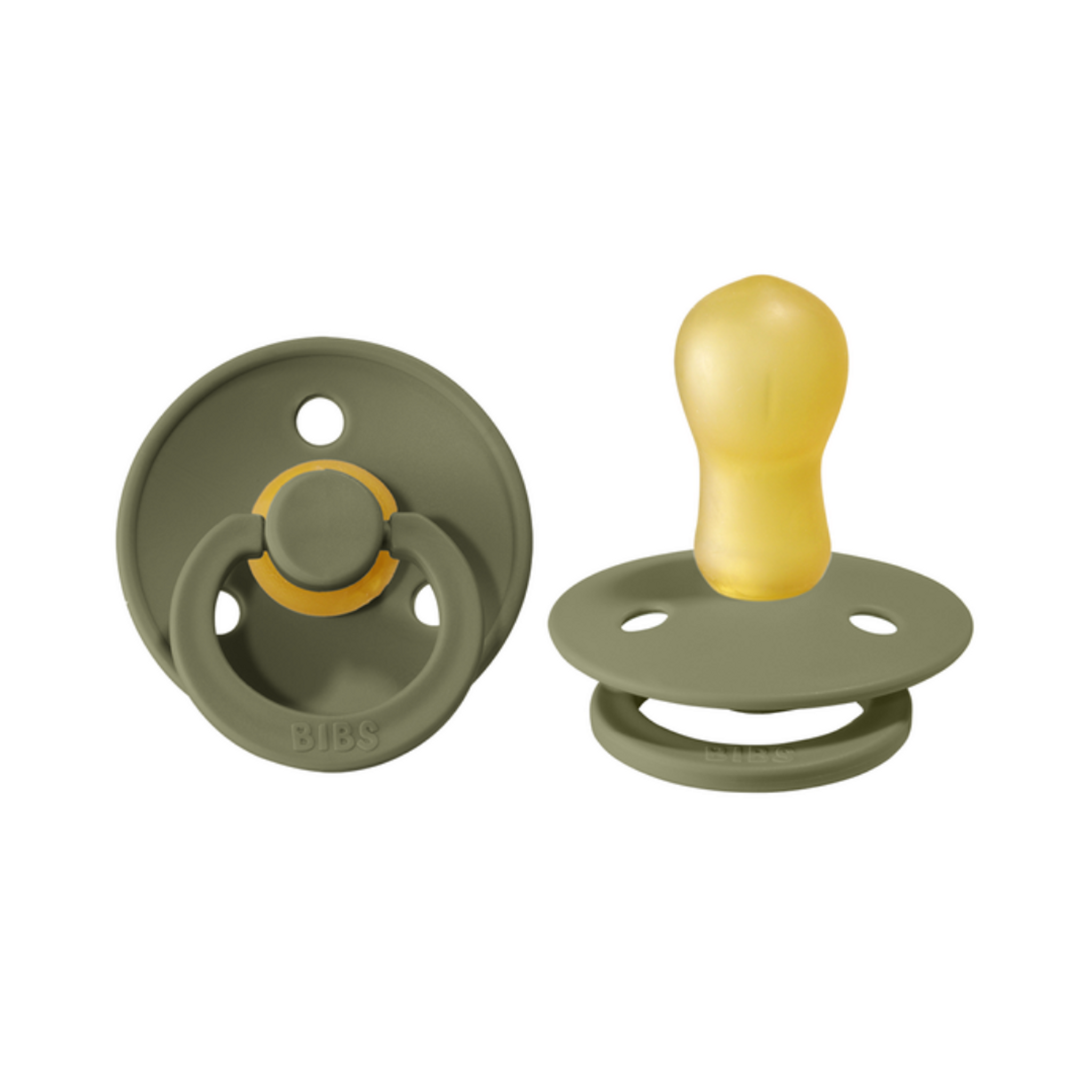 Pacifier 2-Pack - Olive