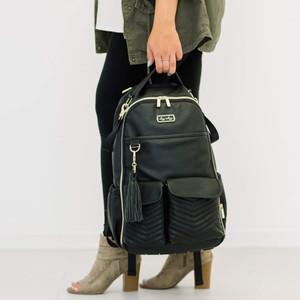 Boss Backpack - Black Herringbone